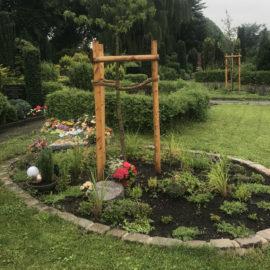 Gräber unter Bäumen, Waldbestattung und andere pflegefreie Bestattungsalternativen